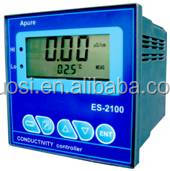 Waste water used online metal or plastic EC conductivity meter