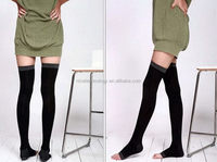 Women leg slimming compression sock sexy stockings tube
