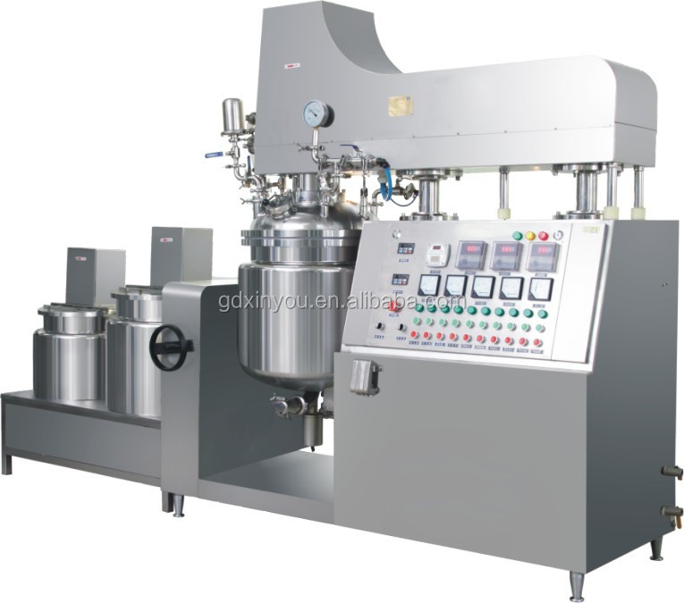 2015 chemical equipment for body cream making machine