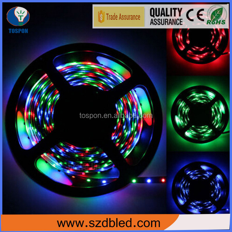 12v IP20 3528 smd rgb led strip color changing 3528rgb led rgb strip 100m