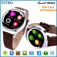 Hot Brand Pedometer FM smart watch bluetooth phone for samsung C7 Pro