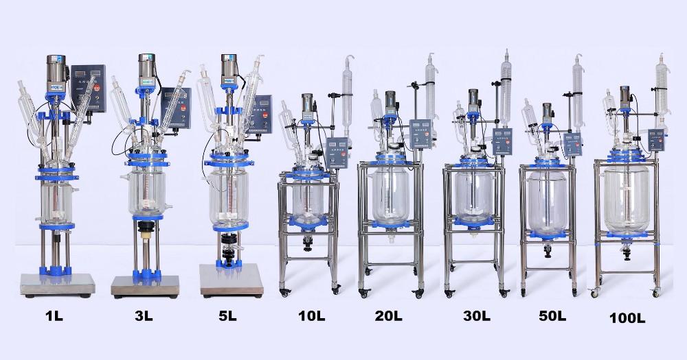 Kd Bioreactor Jacketed Glass Reactor Buy Glass Reactor