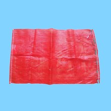 New and recycled material vegetable tubular mesh bag with drawstring