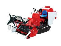 small wheat combine harvester 4LZ-1.0 for sale