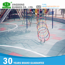 Muti Color Customized outdoor basketball court rubber floor tile
