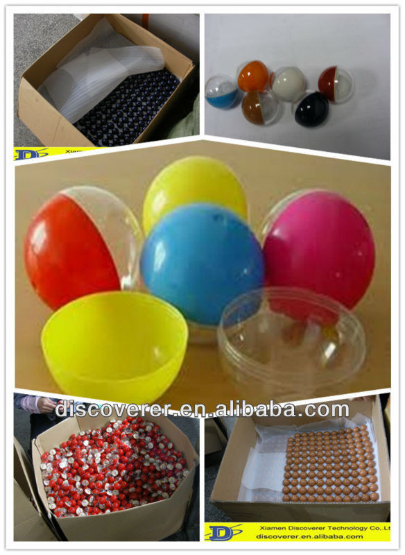 small cheap colorful plastic balls / plastic marbles making