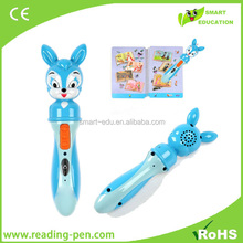 Children talking pen & Blind reading pen learning language with gold producer