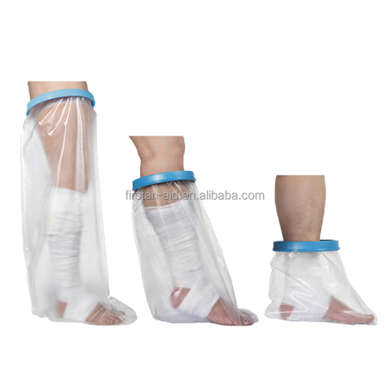 Waterproof cast cover and bandage protector for adult and kids