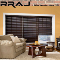 RRAJ Wood Blinds and Shutters For Windows