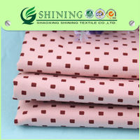 shaoxing shining textile woven wholesale cotton twill printed fabric