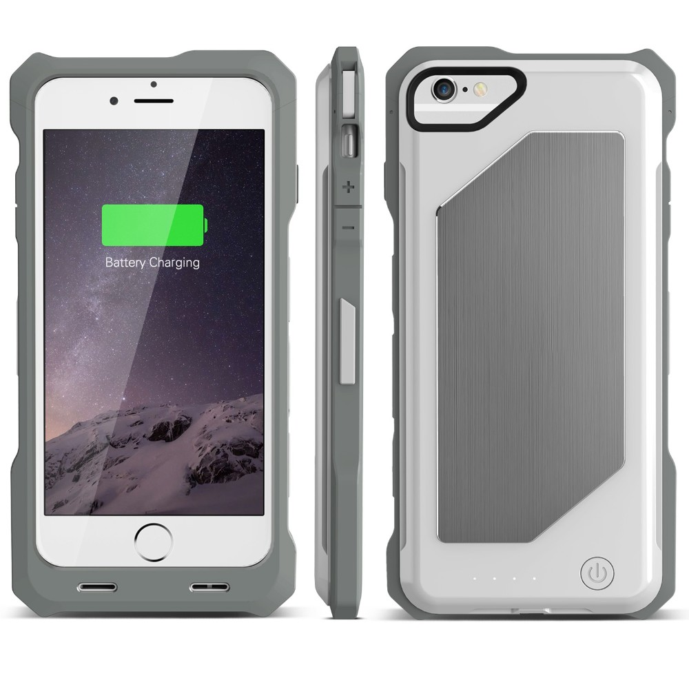iFans Full safeguard NEW iron man shape 2500mAh Power Case for iPhone 6/6s