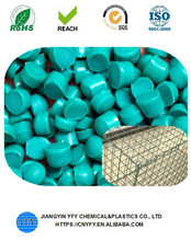 Professional anti-cracking pvc pellets for gabion