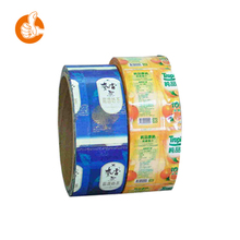 Stand up ziplock vegetable seed plastic film rolls with high quality