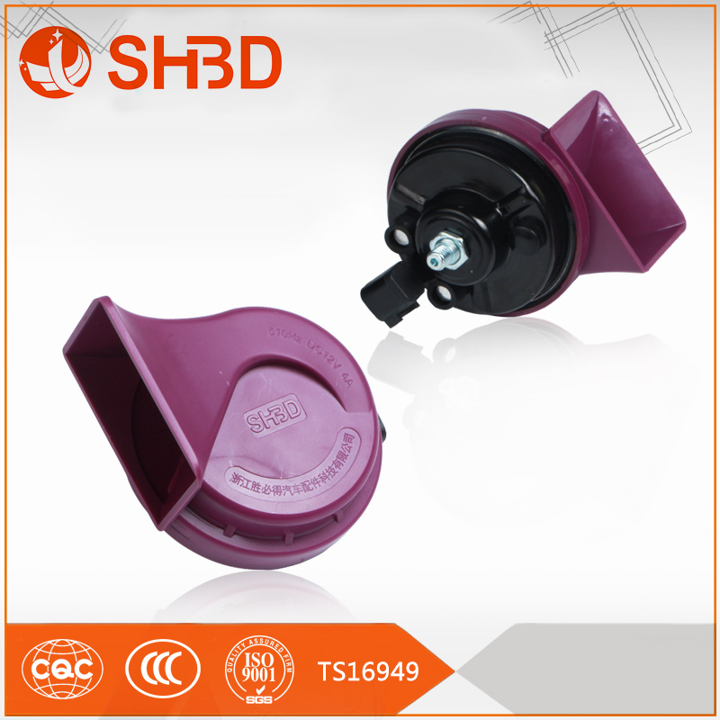 Auto HIGH QUALITY Car Horn 12v CCC Waterproof Super Sport Snail car air horn for Ford cars