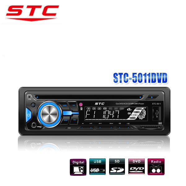 CAR AUDIO STEREO CD/MP3/WMA AUX PLAYER RECEIVER AM FM RADIO + REMOTETC-5011