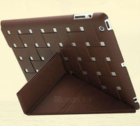on sale tablet flip cover for ipad 4 leather flip case