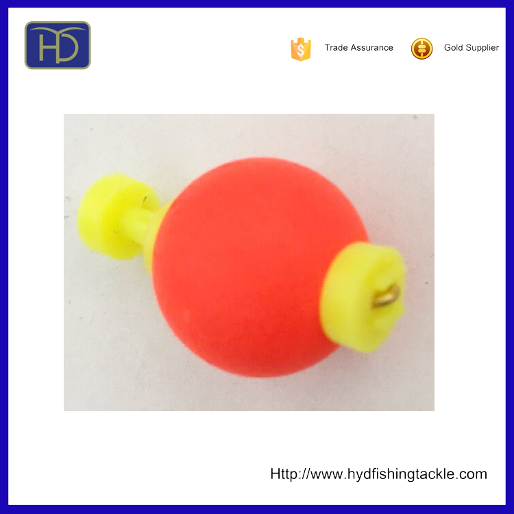 High quality round shape different color EVA foam fishing float