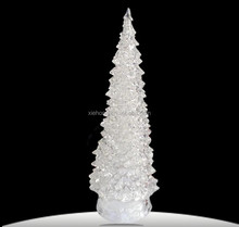 New design top quality automatic christmas tree, small fiber optic christmas tree