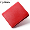Fashion Cow Leather Luxury Women Small Wallet Ladies Short Purse
