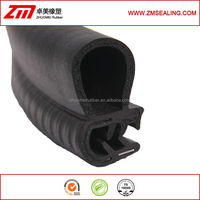 co-extruded rubber part, boot pinchweld