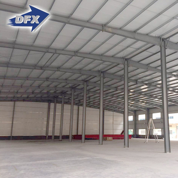 Multifunctional Ethiopia Light Steel Frame Prefab Warehouse