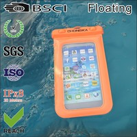 all mobile phone Compatible Brand and PVC Material PVC waterproof bag for cell phone