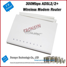 Factory OEM New Arrival 300Mbps Long Range Wireless ADSL Modem Router