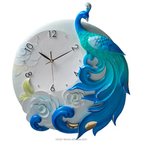 Quartz Analog Resin plastic classical beautiful apperance clocks