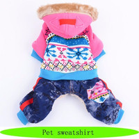 Winter dog and cat clothes, wholesale dog cloth
