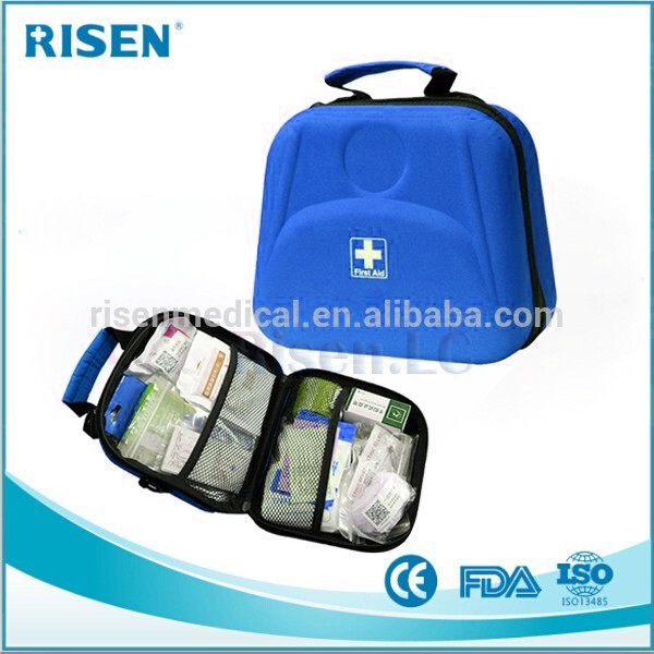 Hot sale first aid kit / hiking waterproof EVA medical case / health care bag