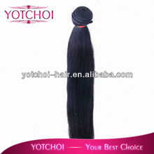 AAAAA grade Qingdao yotchoi hair products Brazilian human hair