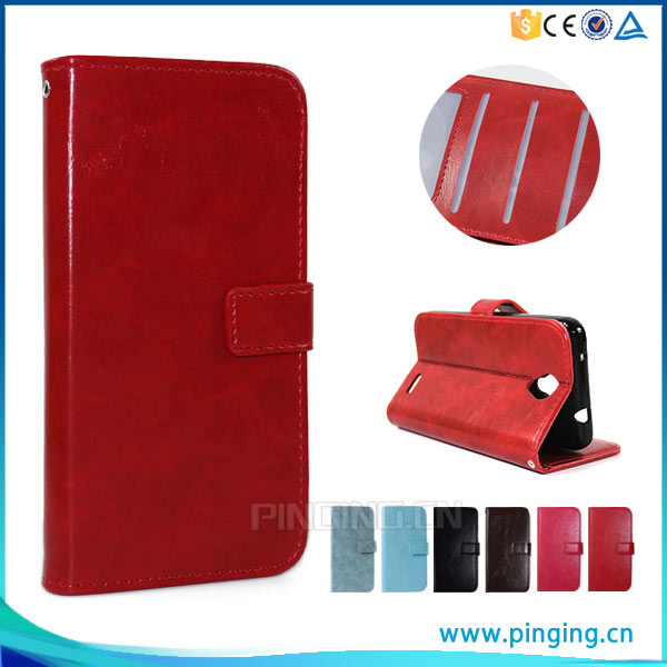 Fashion phone leather case for ZTE Open C2 , mobile phone case for ZTE Open C2