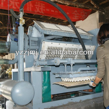 Fully Automatic Rotary Egg Tray Machine Egg box production line