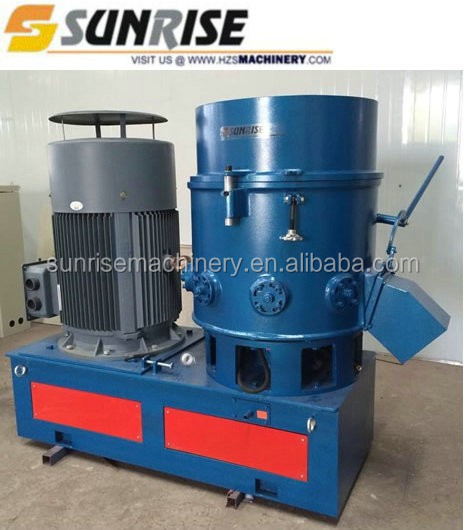 Waste PP PE Film recycled granules agglomerator making machine