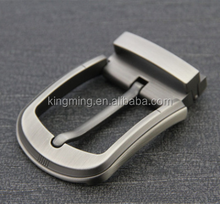 custom prong silver iron simple pin belt buckle 30mm 88g