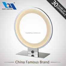 Canton fair Decor home Bedroom metal aluminium acryl bar table lamp
