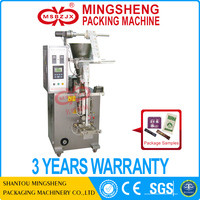 JX016 Fully automatic horizontal small auger packaging machine spices powder packing machine