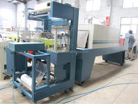 Automatic PE film shrink wrapping packing machine/machinery/line