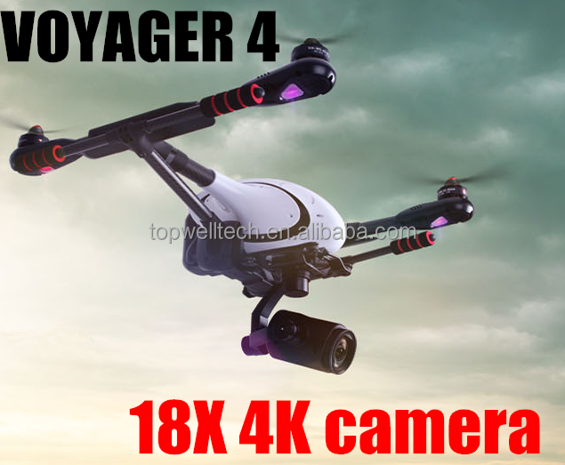Voyager 4 PK DJI typhoon Professional Aerial Filming FPV Quadcopter RC 18X4Kcamera with lcd screen rc helicopter with gyro