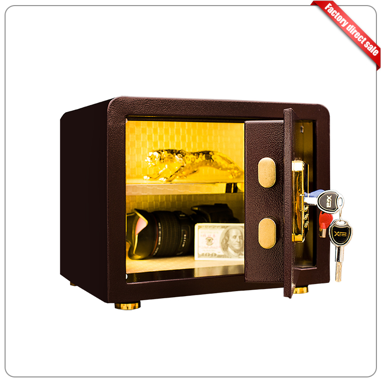 Cheap China Supplier Mini Hotel Electronic Security Metal Safe Box