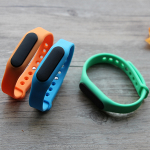 Rechargeable Bluetooth Ble Beacon Wristband iBeacon With Accelerometer