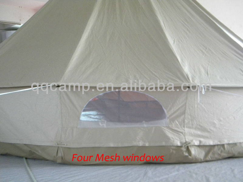 2015 HOT SALES COTTON CANVAS 8 PERSON TENT WITH BELL TENT SALE