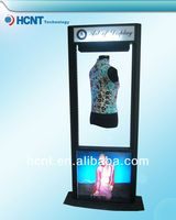 New Invention ! magnetic levitation led display rack for underwear, massage breast uplift bra