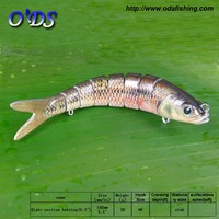 Factory super sell 8 sections fishing lure sounder lure