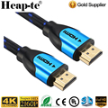 High Speed hdmi cable-BC black/blue with Braided Cord support Ethernet ,3D,4K and Audio Return (ARC)6ft 10ft 15ft 25ft 75ft 100