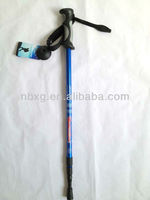 highquality three section walking stick brass