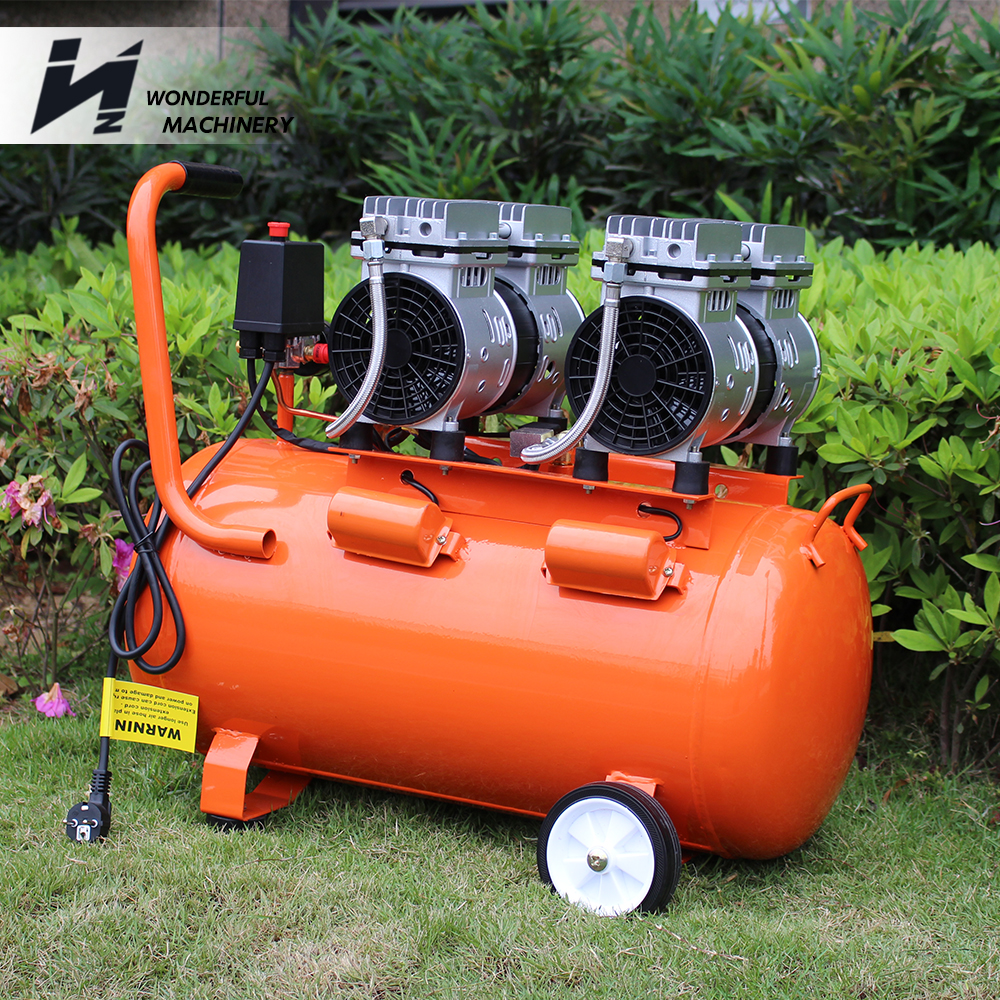 Factory best price high quality silent wash painting car for Car paint air compressor