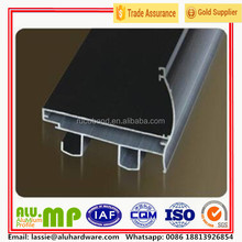 6063 black anodized structural aluminium extrusion profile