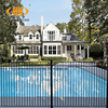 Easily assembly security protection portable galvanized steel fence panels ,cheap swimming pool fence,pool fencing