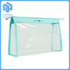 Eco-friendly transparent pvc cosmetic bags/clear plastic toiletry bags
